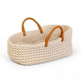 Astrup Doll Knitted Basket and Bedding Set