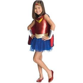 Rubie's Deerfield Wonder Woman tutu costume - size todddler