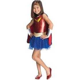 Rubie's Deerfield Wonder Woman tutu costume - size todddler