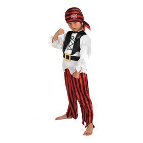Pirate Boy Child Costume - size m