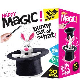 Happy Magic Collapsible Hat Magic Tricks Set - 50 Magic Tricks