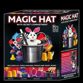 Magic Hat Kit with 125 Magic Tricks