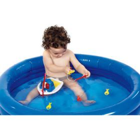 Note: pool, child & water not included