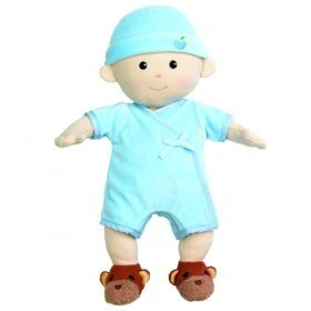 Apple Park Organic Polyester-Free Baby Doll - Boy