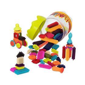 B Toys Bristle Block Stackadoos
