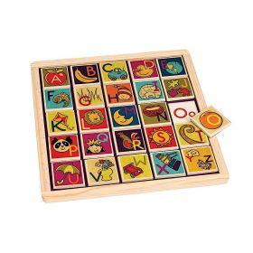B Toys Magnetic Alphabetic