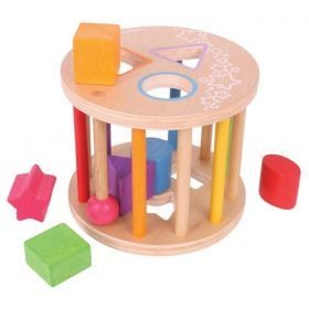 First Rolling Shape Sorter