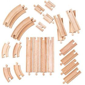 BigJigs Curves and Straights Train Set Expansion Pack