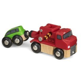 BRIO Vehicle - Tow Truck and Car