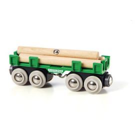 BRIO Vehicle - Lumber Loading Wagon, 4 pieces