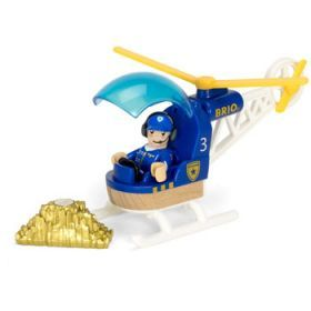 BRIO Vehicle - Police Helicopter, 3 pieces