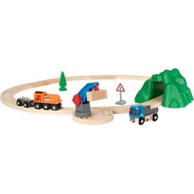 "Brio Train Set - Starter Lift & Load Set ""A""- 19 pieces"