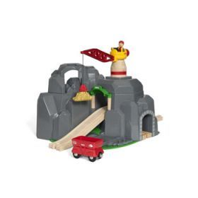 BRIO Tunnel - Crane and Mountain Tunnel, 7 pieces