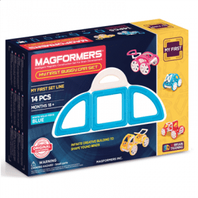 MAGFORMERS My First Buggy Car Set (Blue)