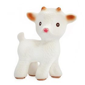 caaOcho Sola the Goat | Natural rubber bath toy