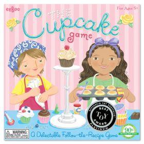 eeBoo Spinner Game Cupcake