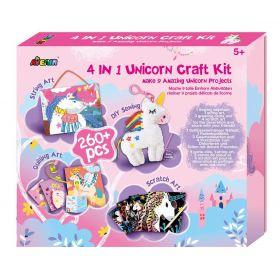Avenir - 4 in 1 Unicorn Craft Kit