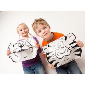 Calafant creative cardboard models   Playful masks