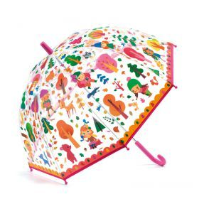 Forest PVC Child Umbrella