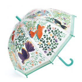 Flower & Birds PVC Umbrella