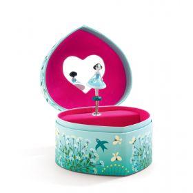 Budding Dancer Ballerina Musical Jewellery Box