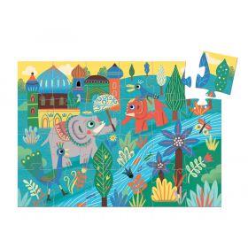 Haathee Asian Elephant-24pcs puzzle