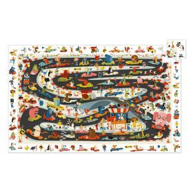 Car Rally 54pc Observation Puzzle