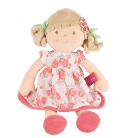 Scarlet Doll with Beige Hair and Floral Dress
