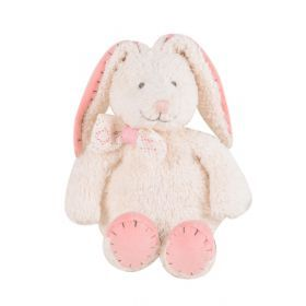 Organic Bunny Toy- Swing Tag