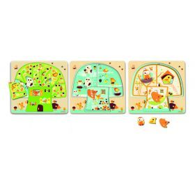 Djeco Chez-nut Tree 3 Layer Puzzle