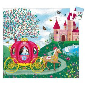 Djeco Elise's Carriage Puzzle (54 pcs)