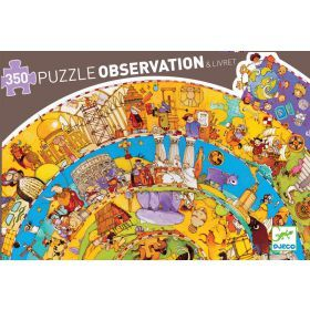 Djeco History Observation Puzzle 350pce