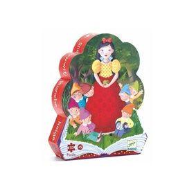 Djeco Snow White Puzzle 50pc