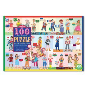 100 PC Puzzle - Children of World