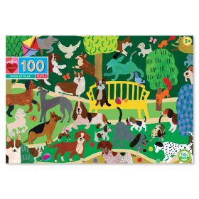 eeBoo 100 Pc Puzzle - Dogs at Play