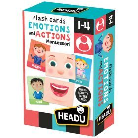 Montessori Flashcards Emotions and Actions