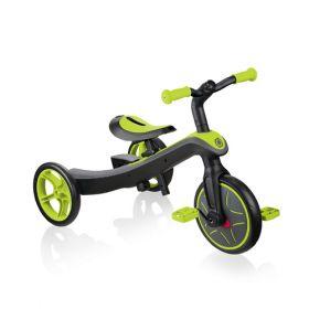 Globber Explorer Trike 2 in 1 - Lime Green