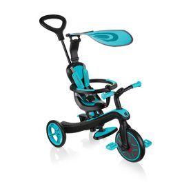 Globber Explorer Trike 4 in 1 - Teal