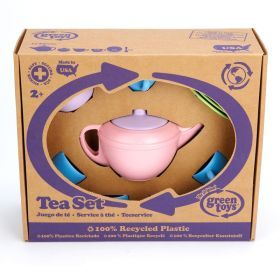 Green Toys – Recycled Plastic Tea Set – 15 pieces