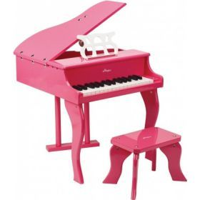Hape Grand Piano with Stool Pink