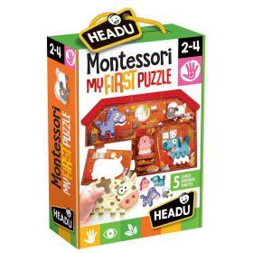 Montessori My First Puzzle The Farm