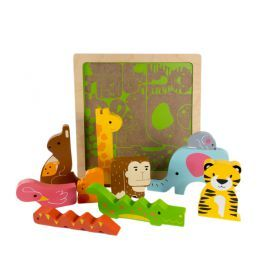 Wild in the jungle puzzle