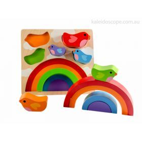 Bird And Rainbow Puzzle