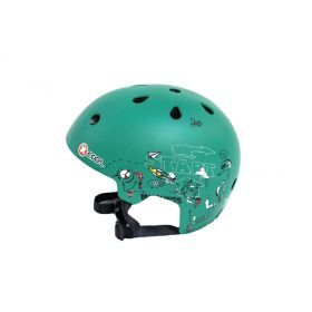 Green Racing Helmet - Small