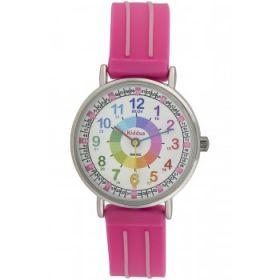 Kiddus Watch - Water Resistant - Teaching Watch - Pink