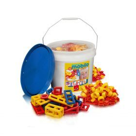Mobilo Construction Toy - Large Bucket 234 Pcs