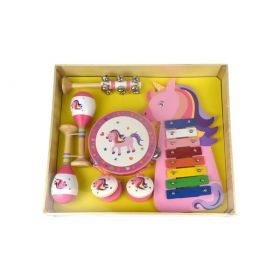 7Pcs Unicorn Musical Set