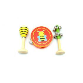 Small Bee 3Pcs Musical Set