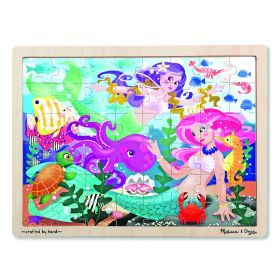 Melissa and Doug - Mermaid Fantasea Jigsaw - 48pc