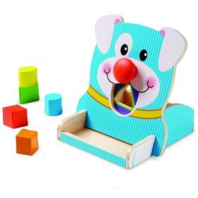 Melissa and Doug - First Play - Spin & Feed Shape Sorter